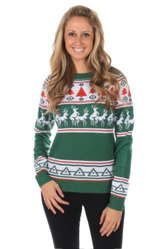 green_humping_reindeer_sweater_front_
