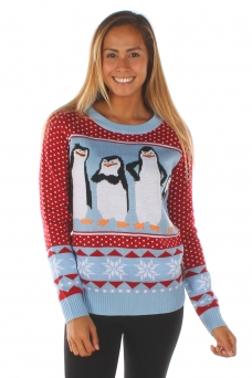 women_s_penguins_from_madagascar_movie_christmas_sweater_2_2