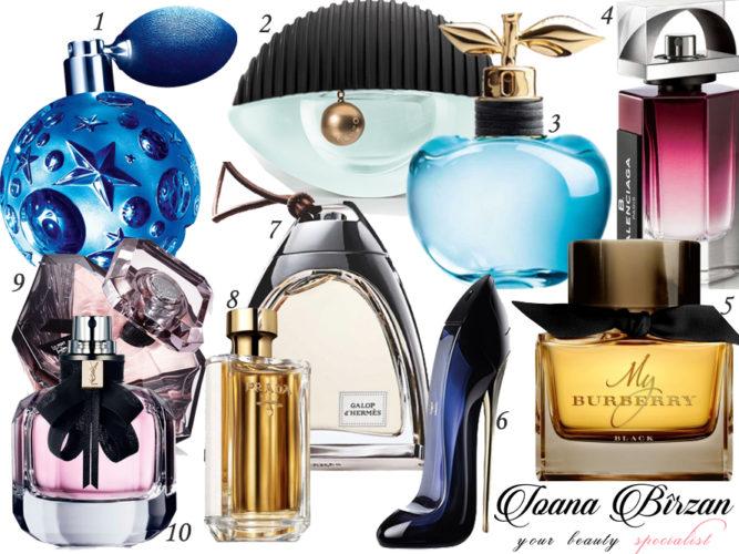 Parfumuri toamnă-iarnă