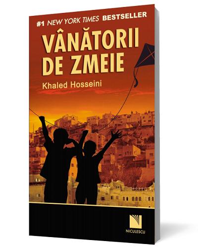 Coperta carte Vanatorii de zmeie de autorul Khaled Hosseini