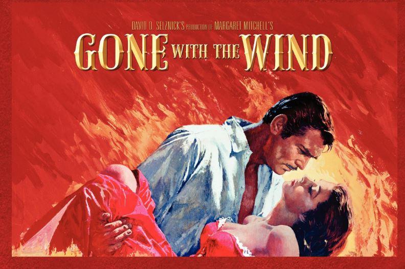 Gone with the wind, titlul original al romanului