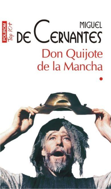 """Copertă carte """"Don Quijote de la Mancha"""", scrisă de autorul Miguel de Cervantes"""