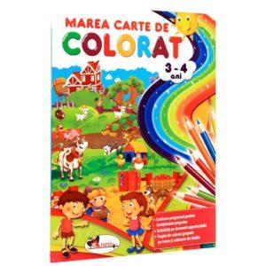 Coperta Marea carte de colorat