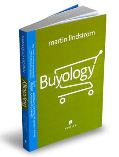 """Coperta carte """"Buyology"""", scrisa de autorul Martin Lindstrom"""