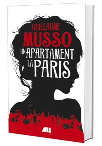 """Coperta carte """"Un apartament la Paris"""", scris de autorul Guillaume Musso"""