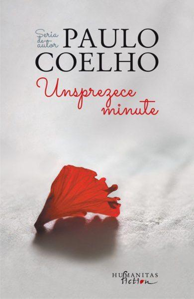 """Coperta carte """"Unsprezece minute"""", scrisă de autorul Paulo Coelho"""