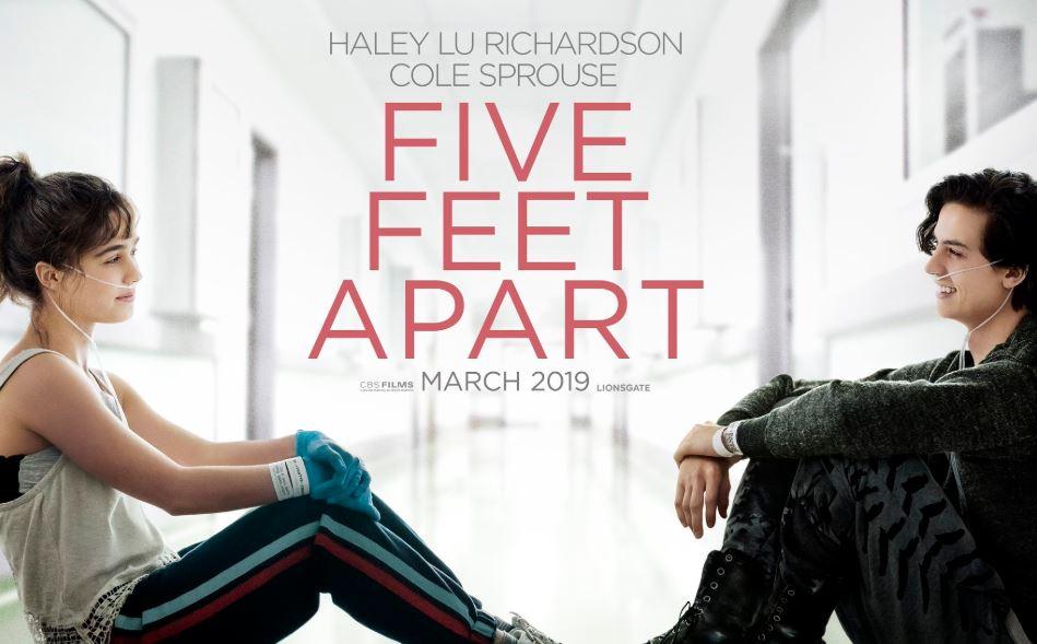 """Five Feet Apart este filmul bazat pe povestea romanului """"La cinci pași de tine"""""""