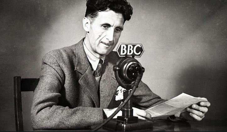 Mesajul transmis de autorul George Orwell