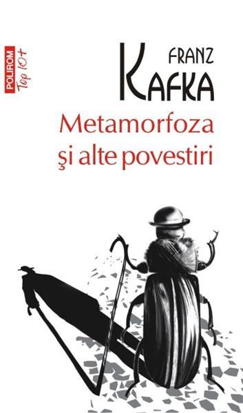 """Copertă carte """"Metamorfoza și alte povestiri"""", scrisă de autorul Franz Kafka"""