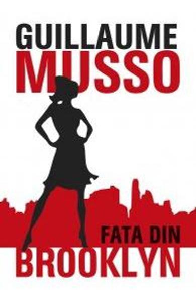 """Coperta carte """"Fata din Brooklyn"""", scrisă de Guillaume Musso"""