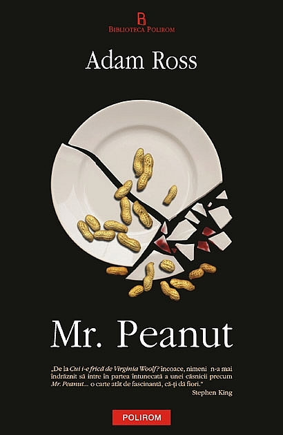 "Coperta carte ""Mr. Peanut"", scrisă de Adam Ross"