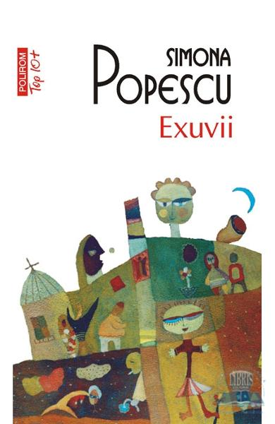 Copertă carte Exuvii, scrisă de autoarea Simona Popescu